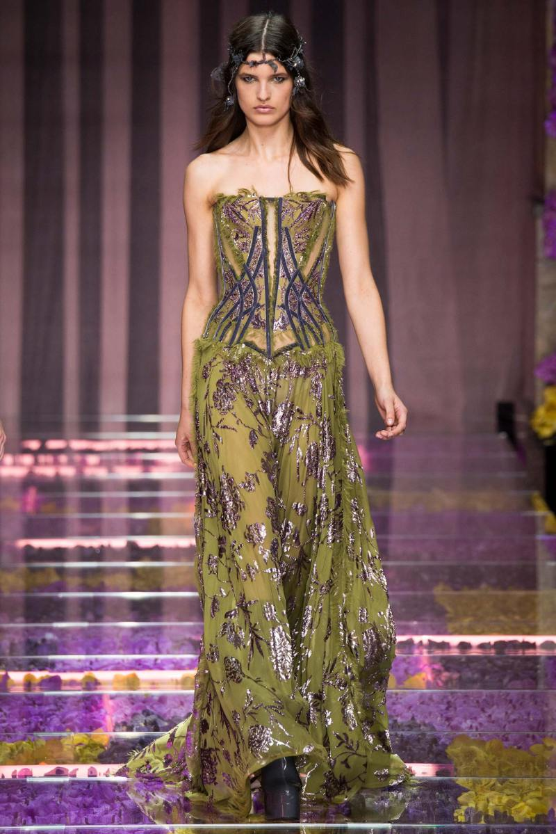 Atelier Versace Haute Couture FW 2015 Paris (15)