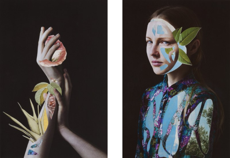Collage Portraits by artist Rocío Montoya (2)