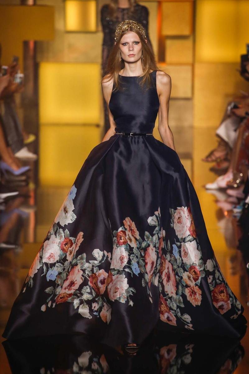 Elie Saab Haute Couture FW 2015 Parigi (54)