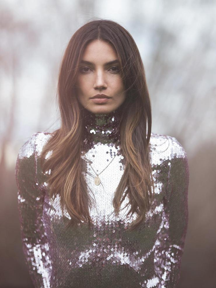 Lily Aldridge By Photographer David Bellemere Graveravens