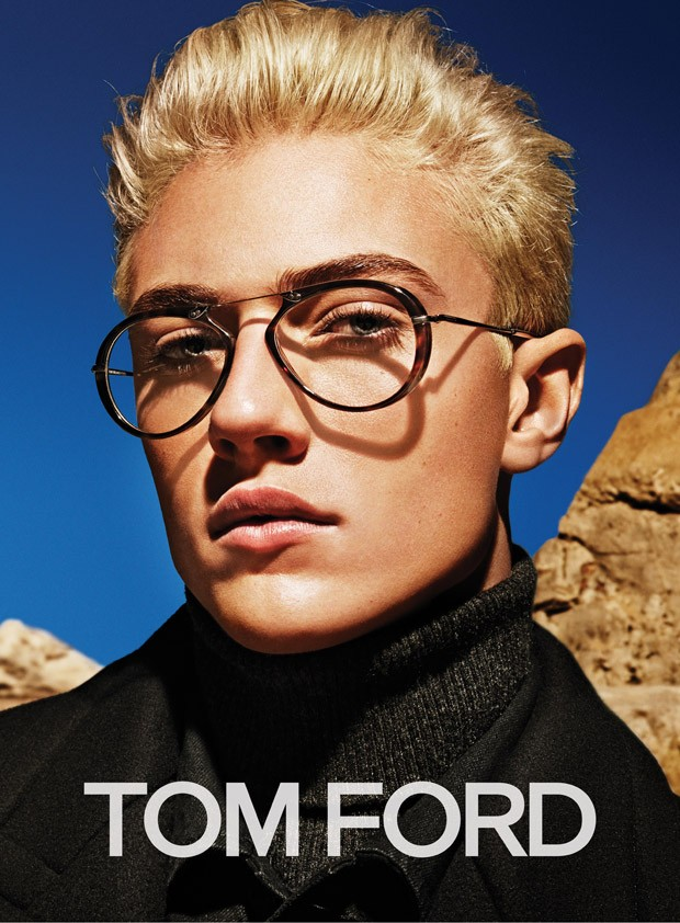 Lucky Blue Smith for Tom Ford FW 2015 Campaign