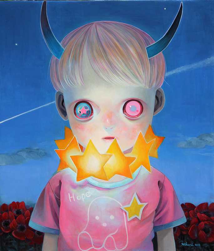 Paintings by Hikari Shimoda (1)