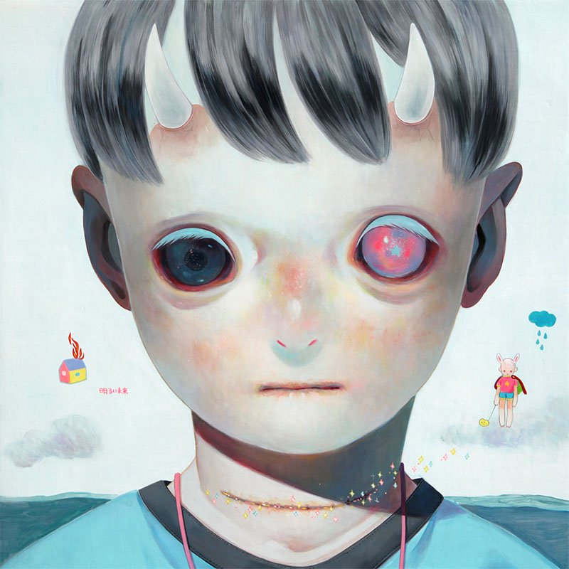 Paintings by Hikari Shimoda (6)
