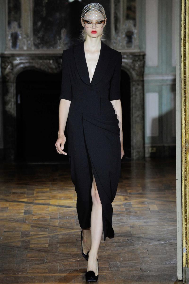 Ulyana Sergeenko Haute Couture FW 2015 Parigi (1)