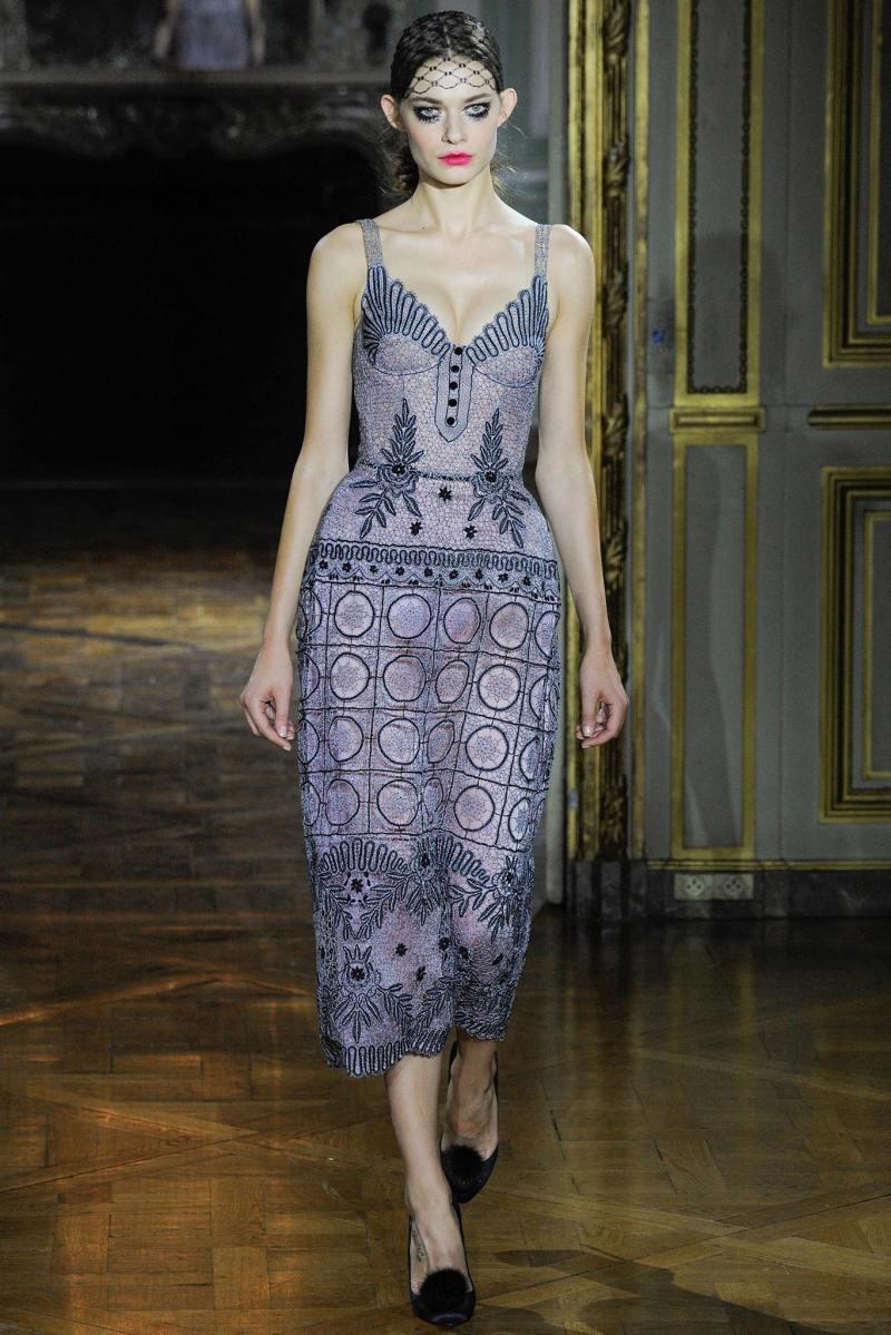 Ulyana Sergeenko Haute Couture FW 2015 Paris (10)
