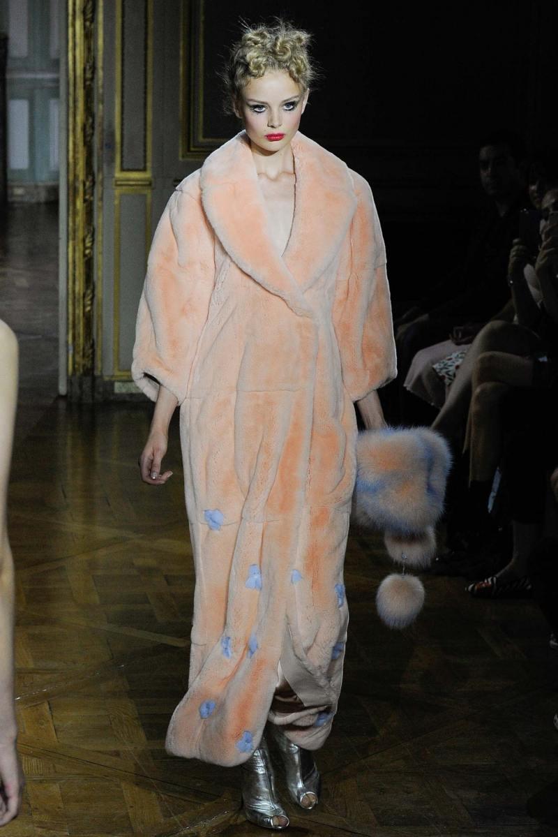 Ulyana Sergeenko Haute Couture FW 2015 Paris (15)