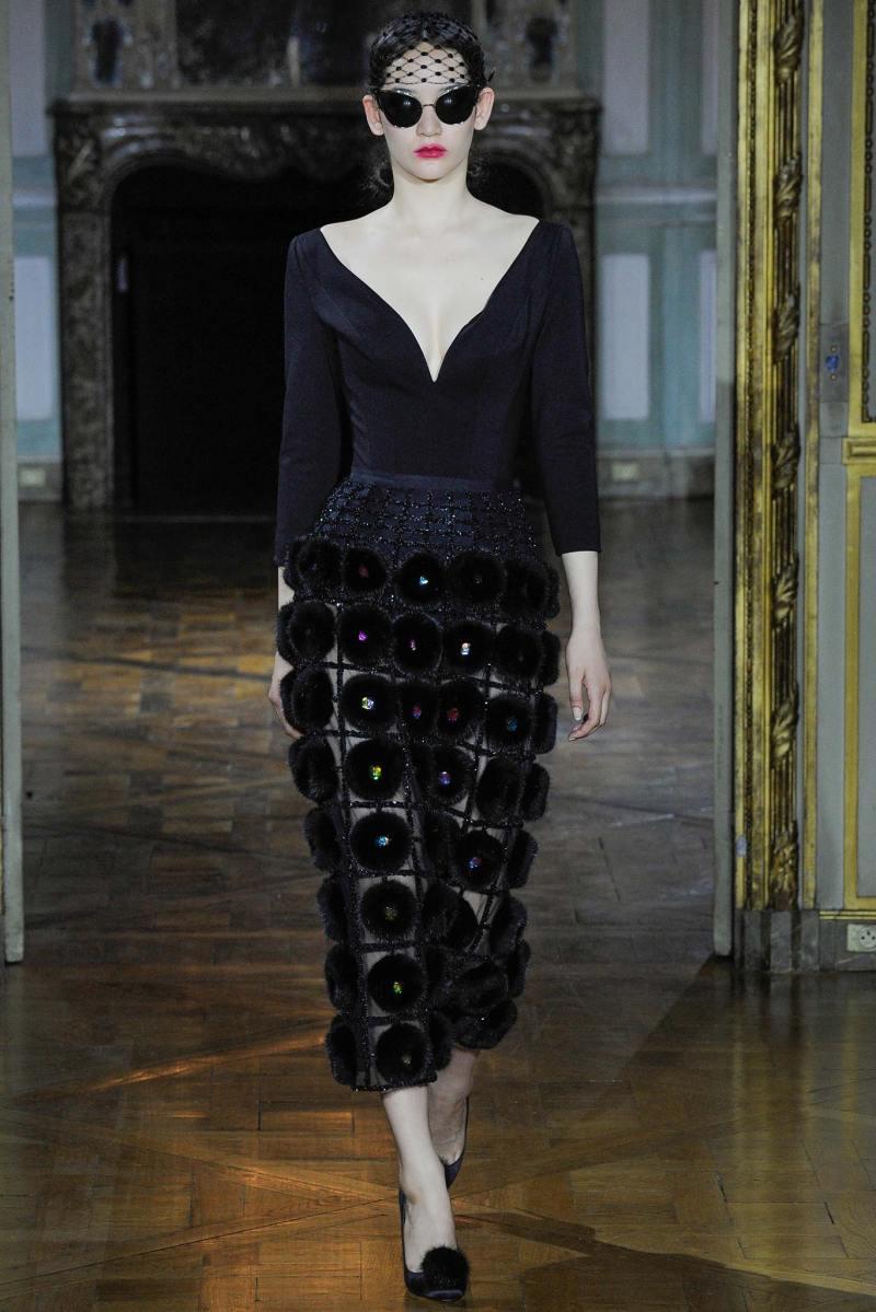 Ulyana Sergeenko Haute Couture FW 2015 Parigi (2)