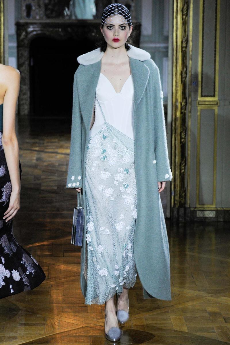 Ulyana Sergeenko Haute Couture FW 2015 Parigi (24)