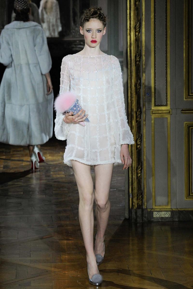 Ulyana Sergeenko Haute Couture FW 2015 Paris (25)