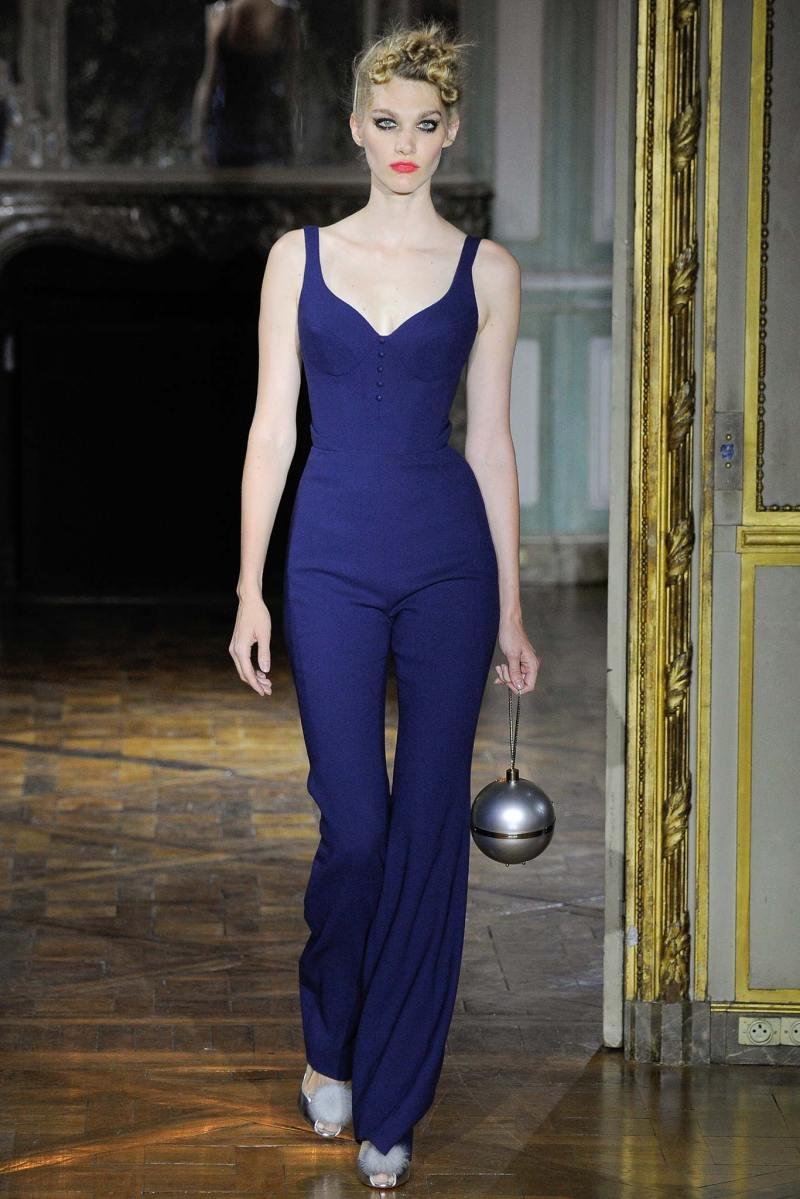 Ulyana Sergeenko Haute Couture FW 2015 Paris (28)