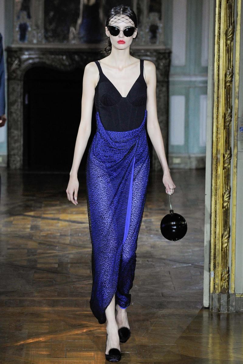 Ulyana Sergeenko Haute Couture FW 2015 Paris (29)