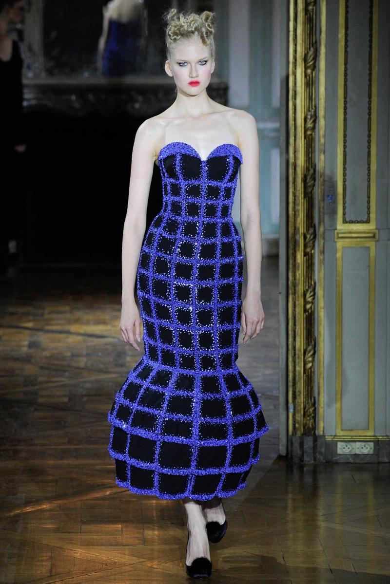 Ulyana Sergeenko Haute Couture FW 2015 Parigi (3)