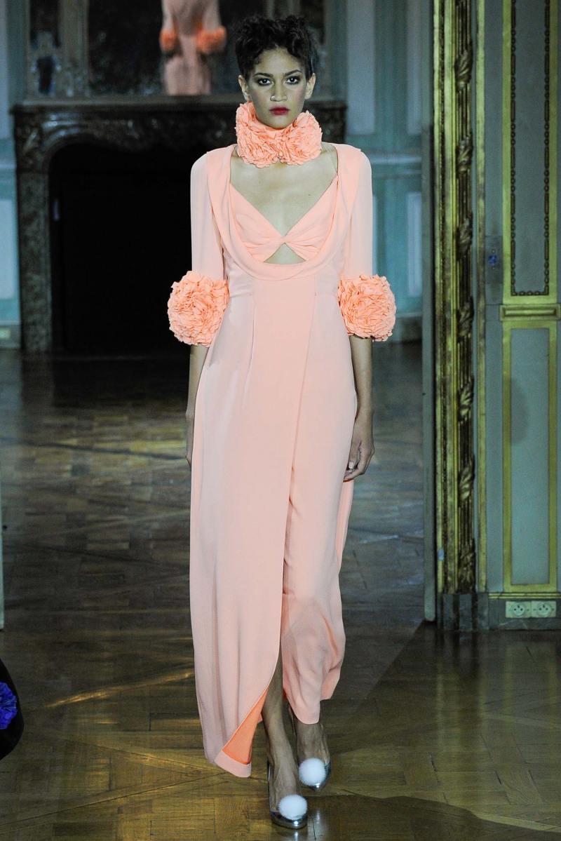 Ulyana Sergeenko Haute Couture FW 2015 Parigi (35)