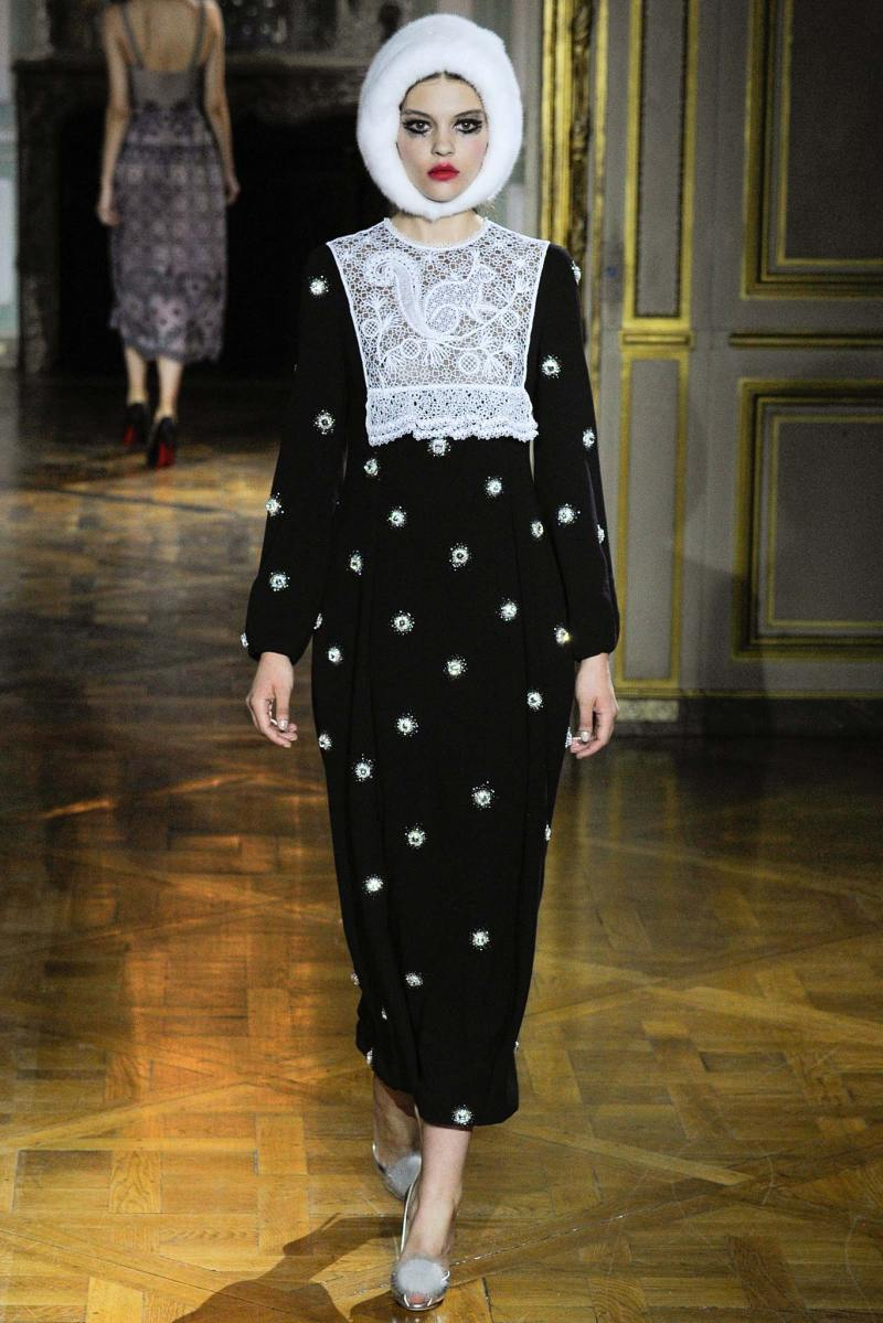 Ulyana Sergeenko Haute Couture FW 2015 Paris (9)
