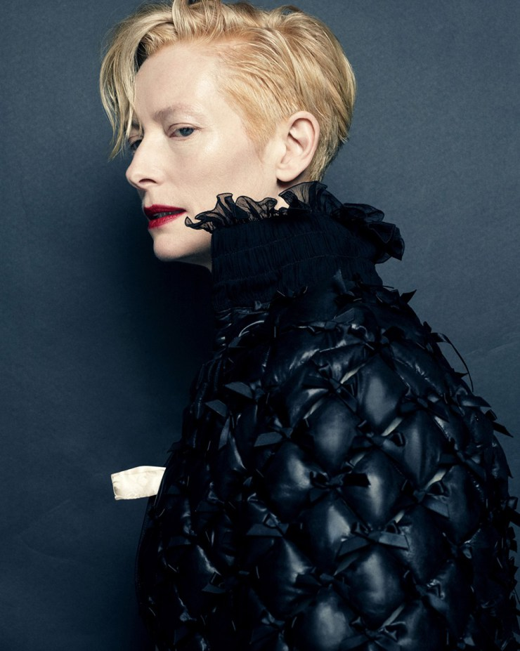 Tilda Swinton by Hong Jang Hyun