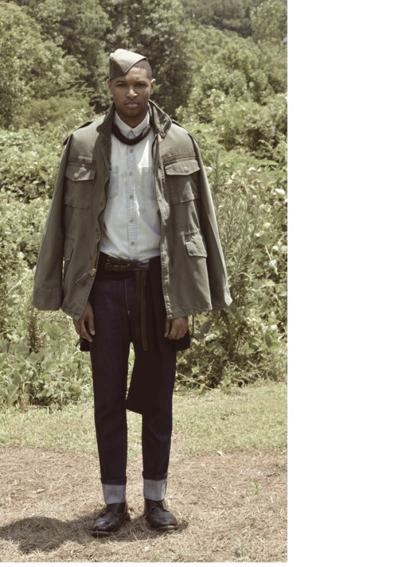 Cotte D'Armes Homme SS16 Look Book-10