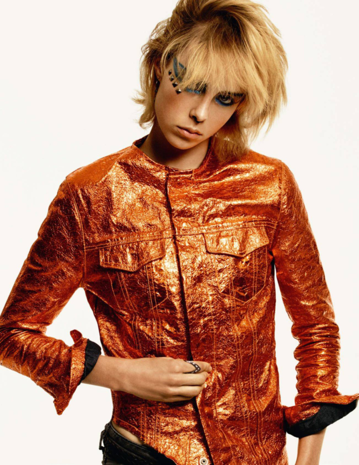 Edie Campbell by Christian MacDonald (2)