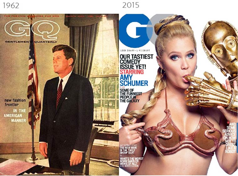 The Evolution of Magazine Covers (4)