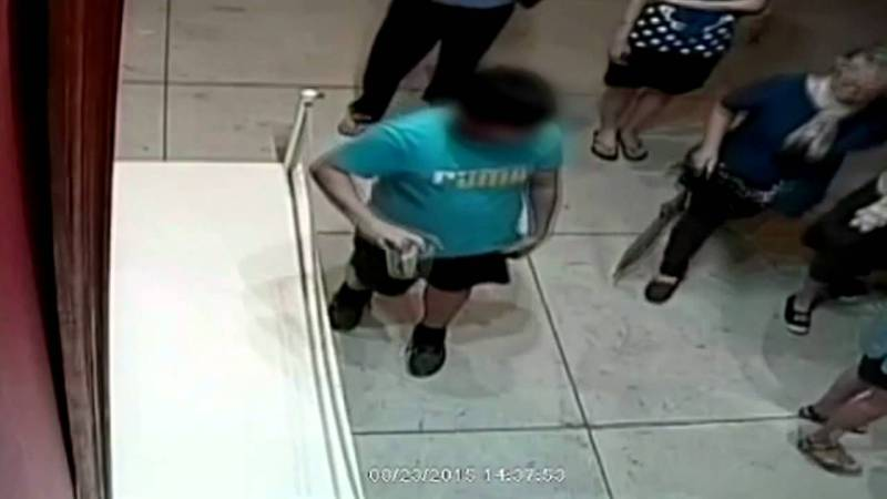 Boy Punches Hole Through 1.5 Million Dollar Painting