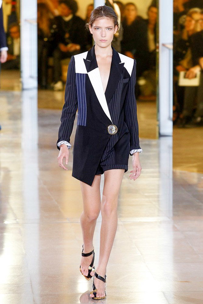 Anthony Vaccarello Ready To Wear SS 2016 PFW (23)