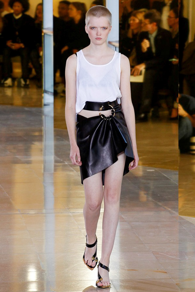 Anthony Vaccarello Ready To Wear SS 2016 PFW (32)