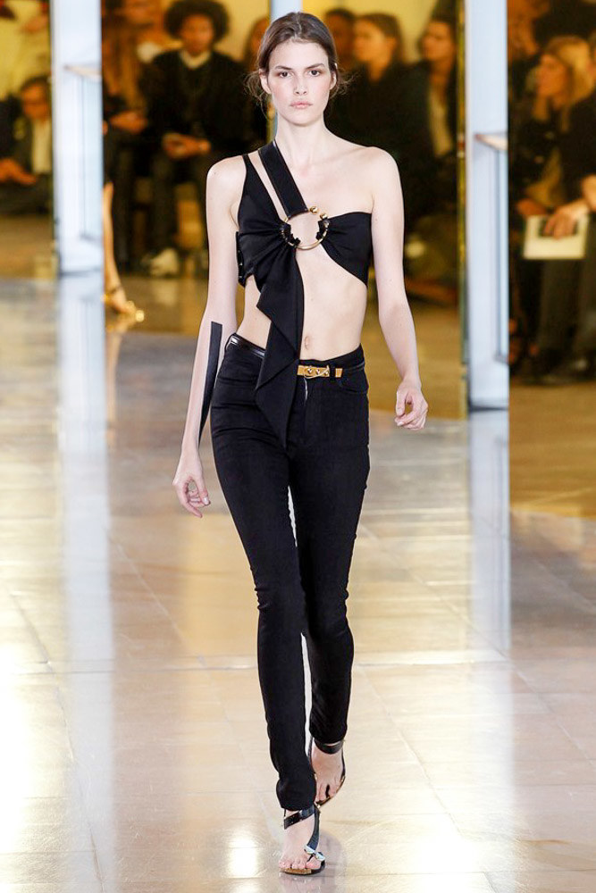 Anthony Vaccarello Ready To Wear SS 2016 PFW (35)