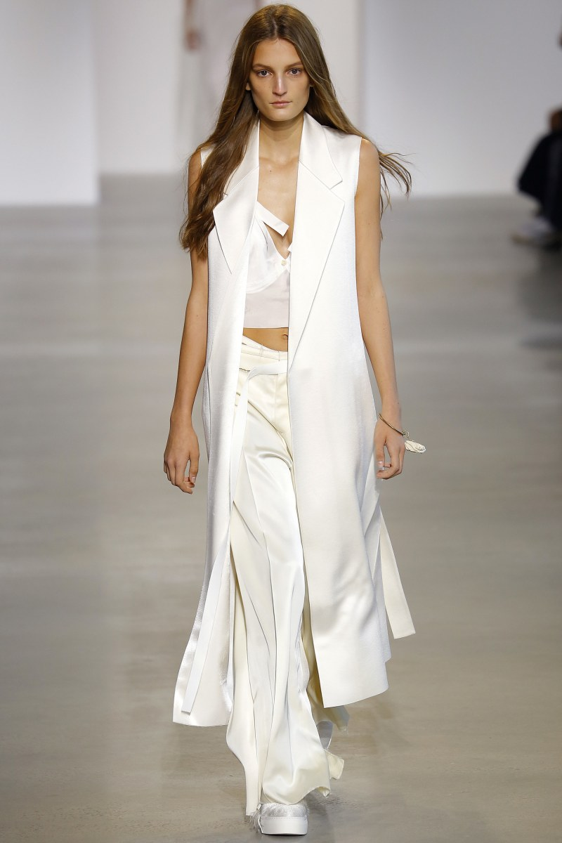 Calvin Klein Collection Ready To Wear SS 2016 NYFW (4)