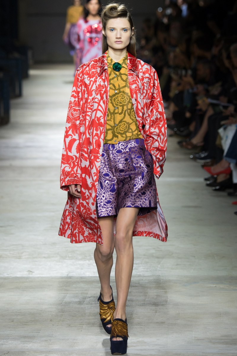 Dries Van Noten Ready To Wear SS 2016 PFW (24)