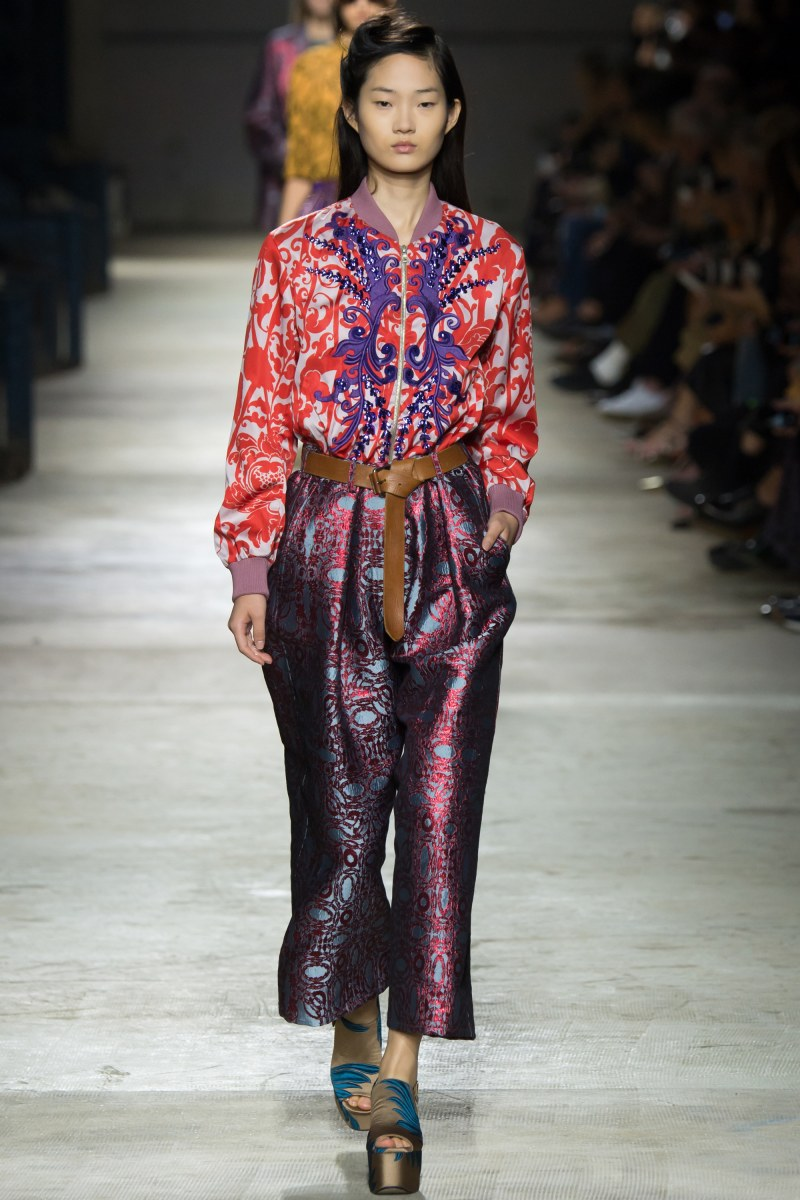 Dries Van Noten Ready To Wear SS 2016 PFW (26)