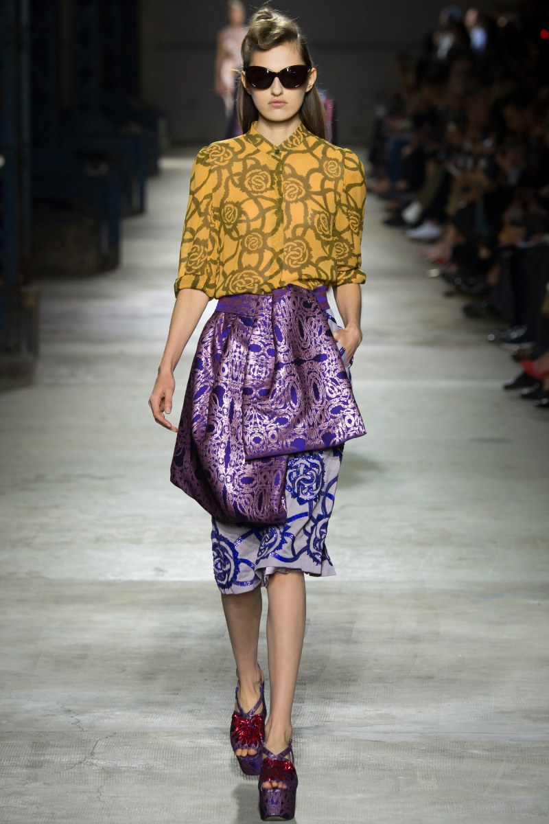 Dries Van Noten Ready To Wear SS 2016 PFW (27)