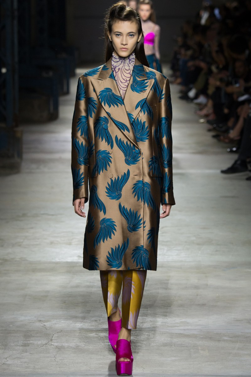 Dries Van Noten Ready To Wear SS 2016 PFW (3)