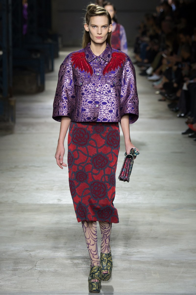 Dries Van Noten Ready To Wear SS 2016 PFW (32)