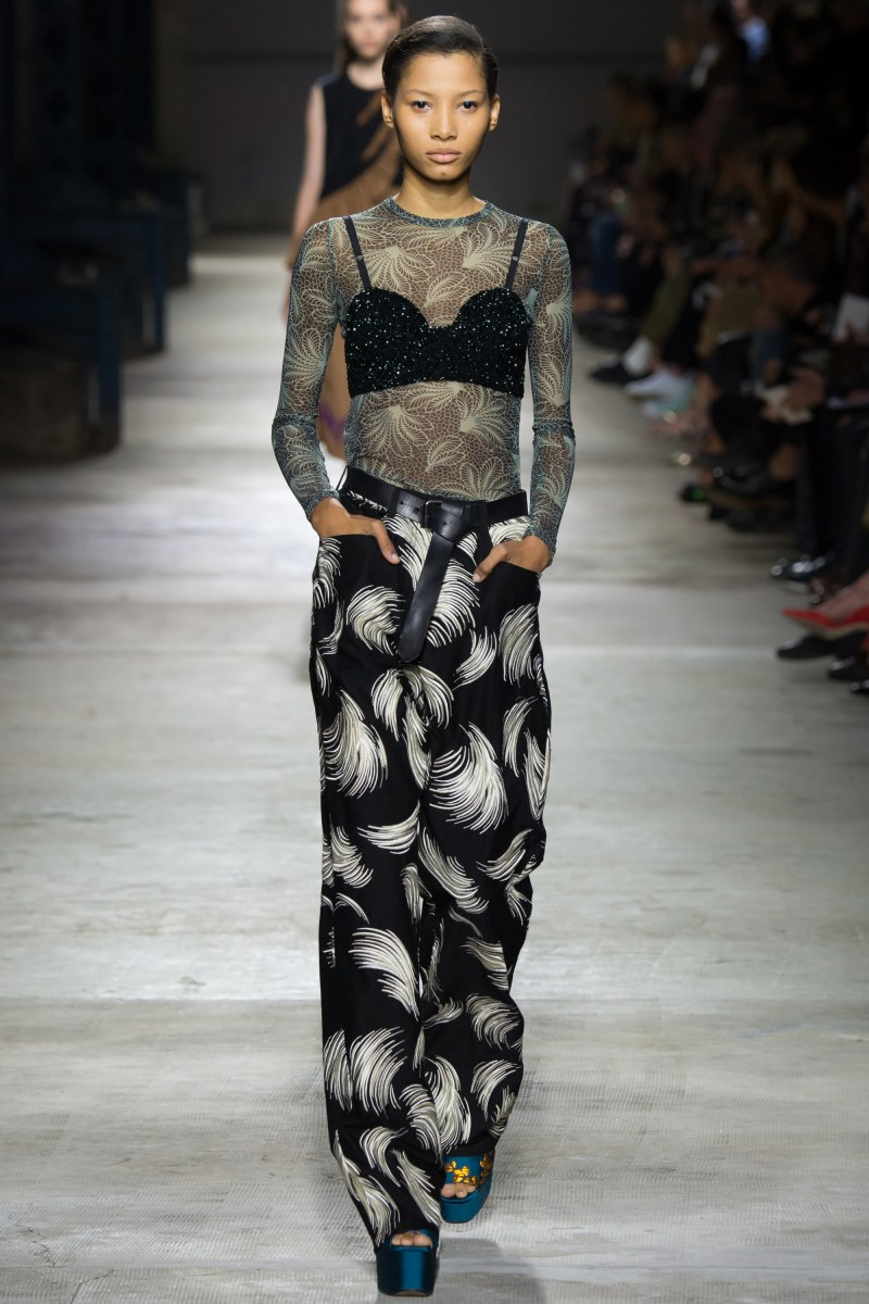Dries Van Noten Ready To Wear SS 2016 PFW (49)