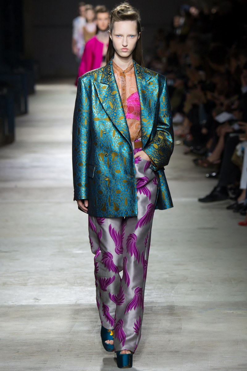 Dries Van Noten Ready To Wear SS 2016 PFW (5)