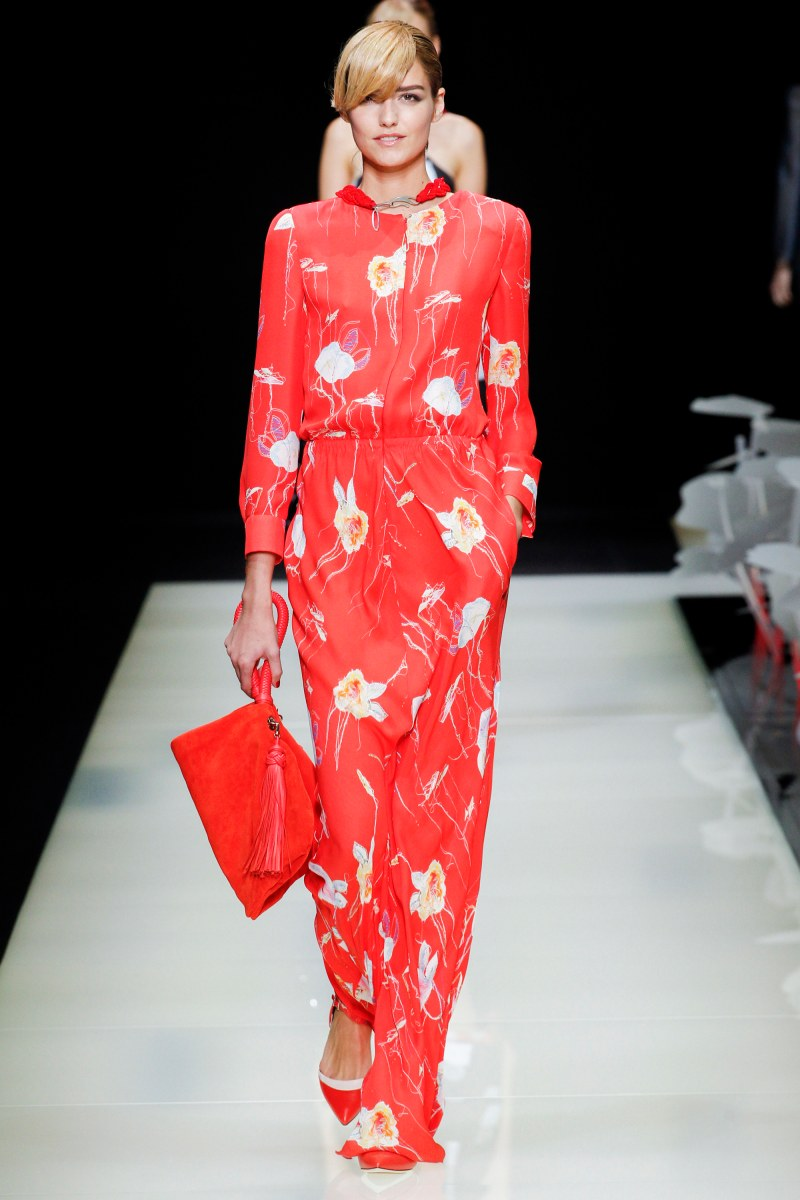 Giorgio Armani Ready To Wear SS 2016 MFW (25)