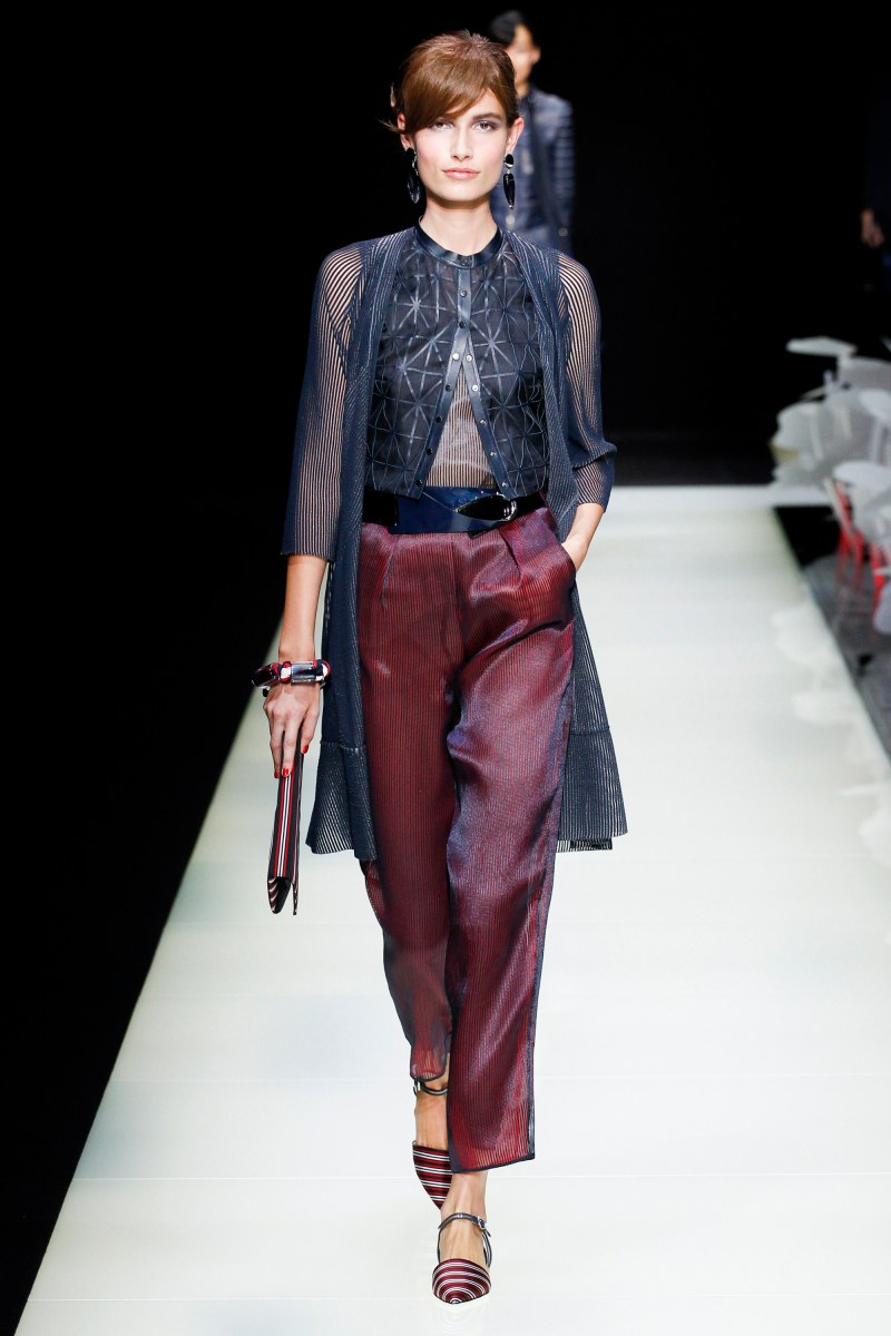 Giorgio Armani Ready To Wear SS 2016 MFW (28)