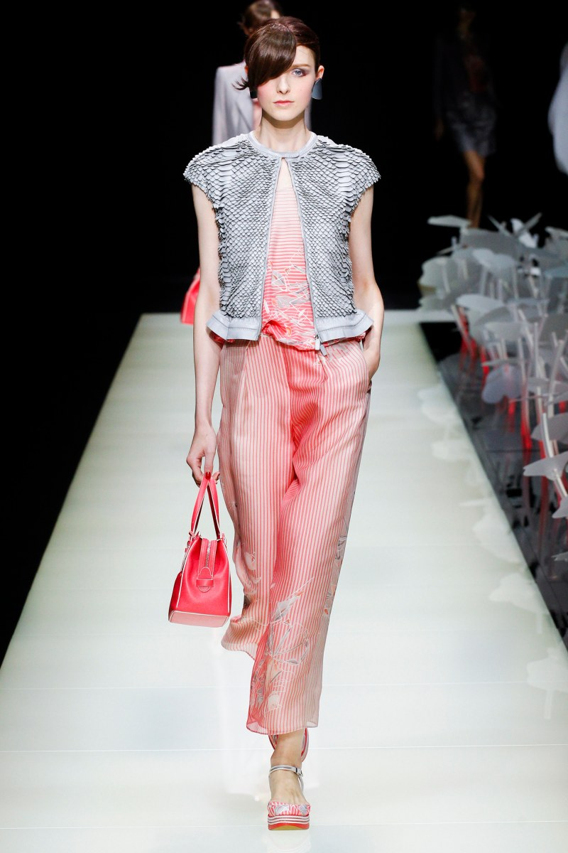 Giorgio Armani Ready To Wear SS 2016 MFW (9)