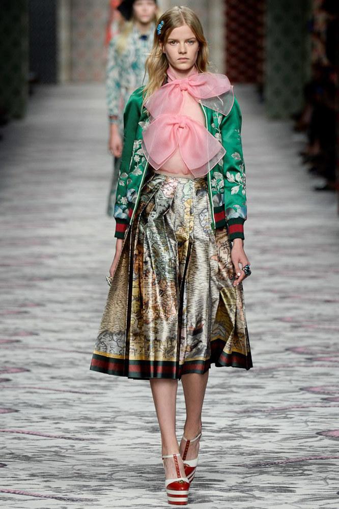 Gucci Ready To Wear SS 2016 MFW