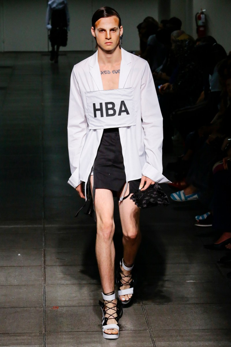 Hood by Air Ready To Wear SS 2016 NYFW (24)