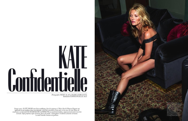 Kate Confidentielle by Mert and Marcus (1)