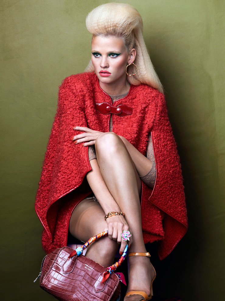 Lara Stone by Bjorn Iooss (1)