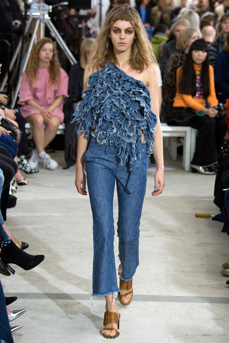 Marques'Almeida Ready To Wear SS 2016 LFW (18)