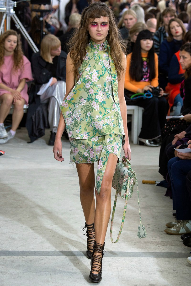 Marques'Almeida Ready To Wear SS 2016 LFW (25)