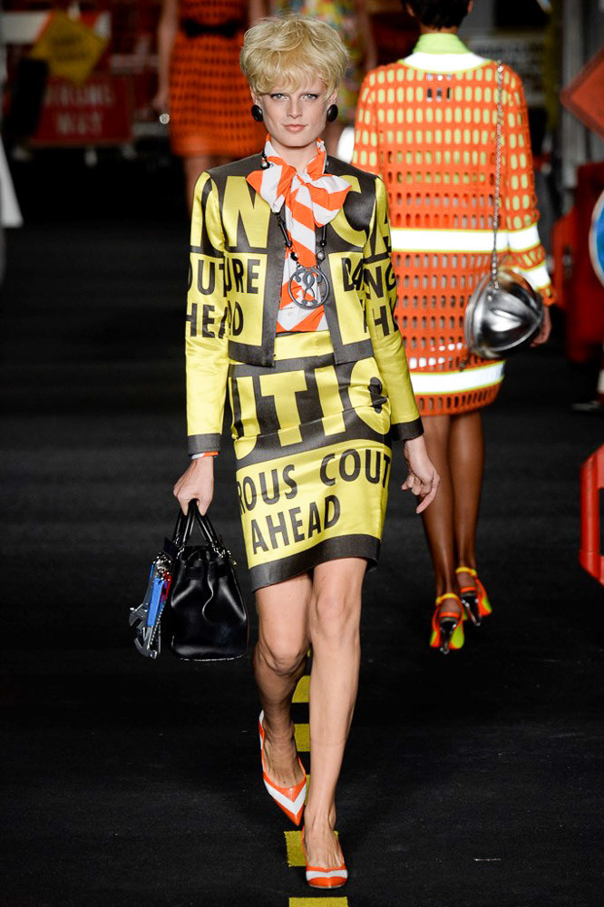 Moschino Ready To Wear SS 2016 MFW (20)