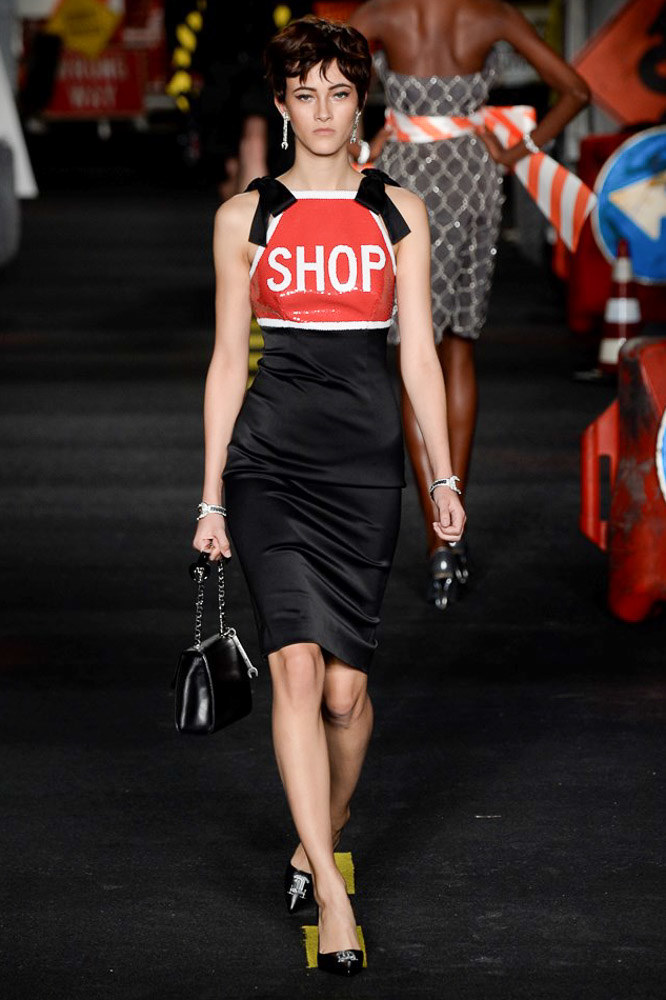 Moschino Ready To Wear SS 2016 MFW (27)