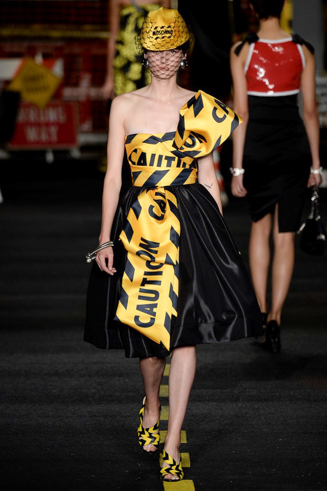 Moschino Ready To Wear SS 2016 MFW (29)