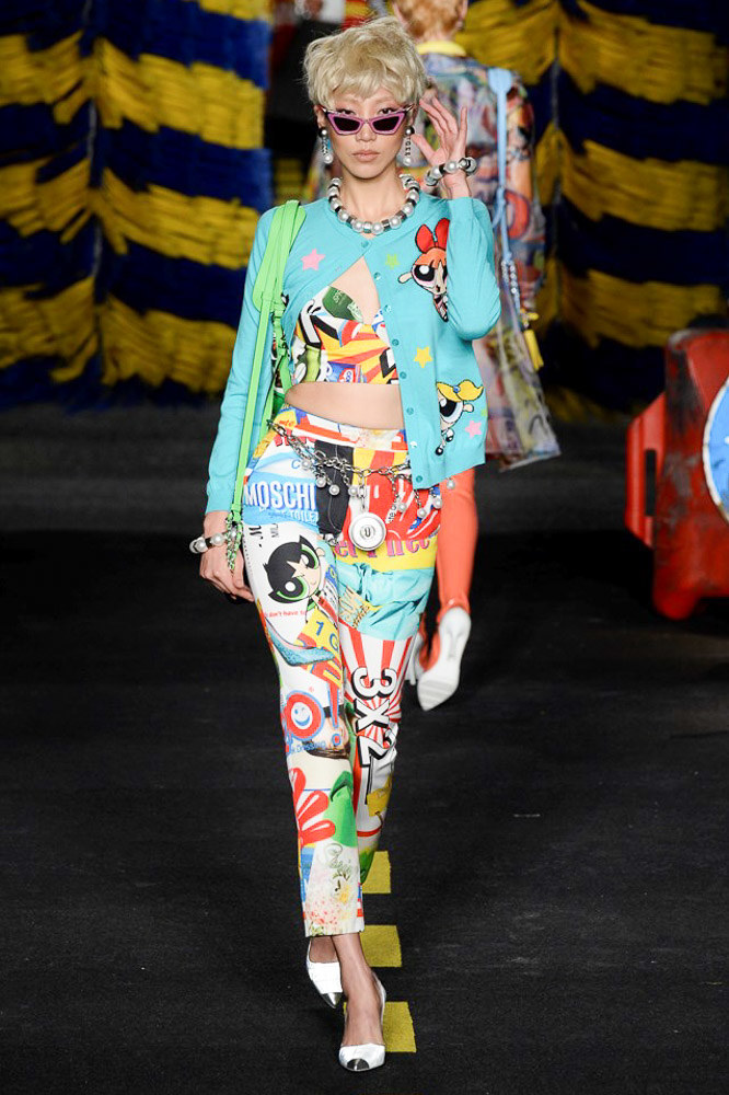 Moschino Ready To Wear SS 2016 MFW (47)