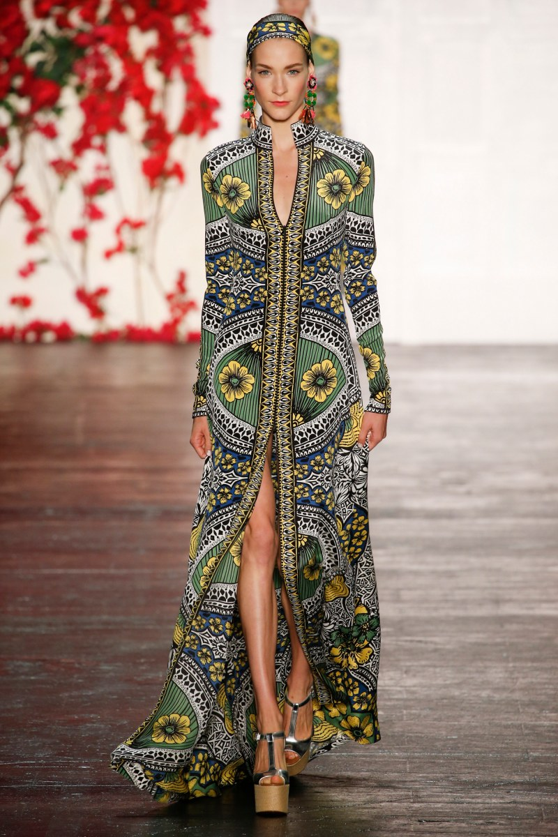 Naeem Khan Ready To Wear SS 2016 NYFW (18)