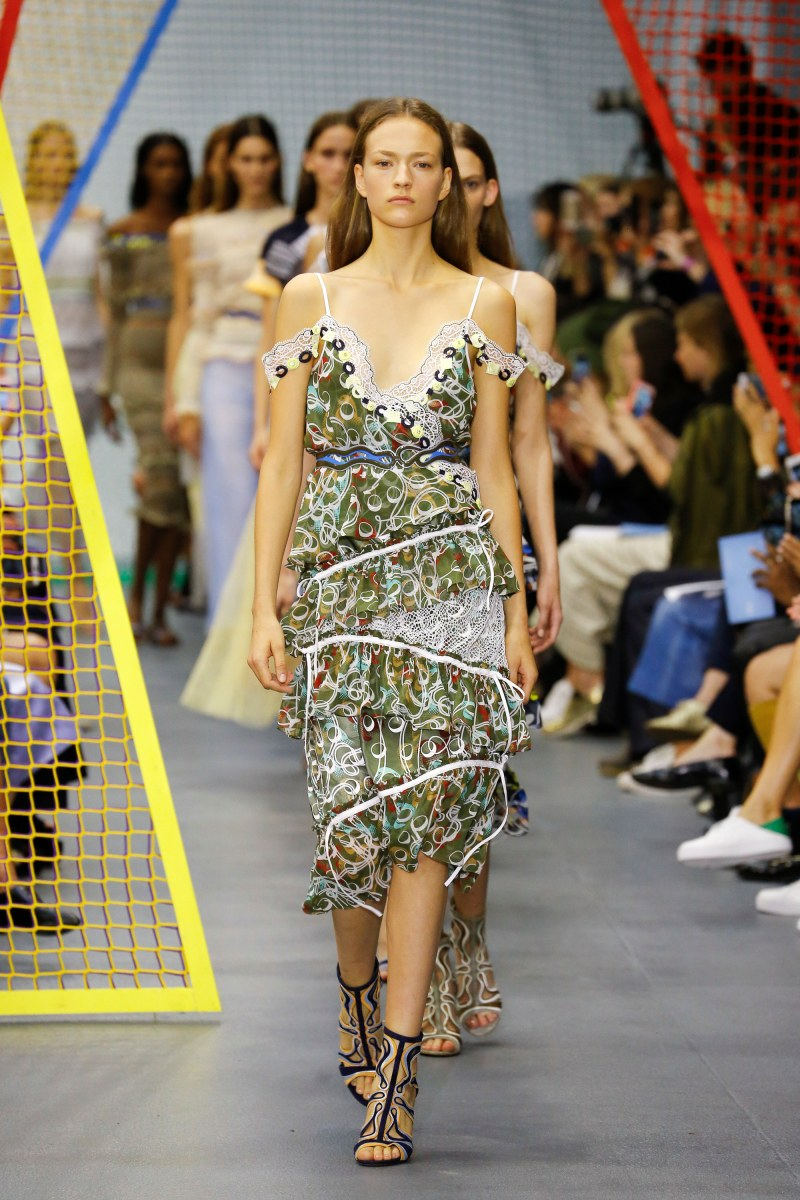 Peter Pilotto Ready To Wear SS 2016 LFW (37)