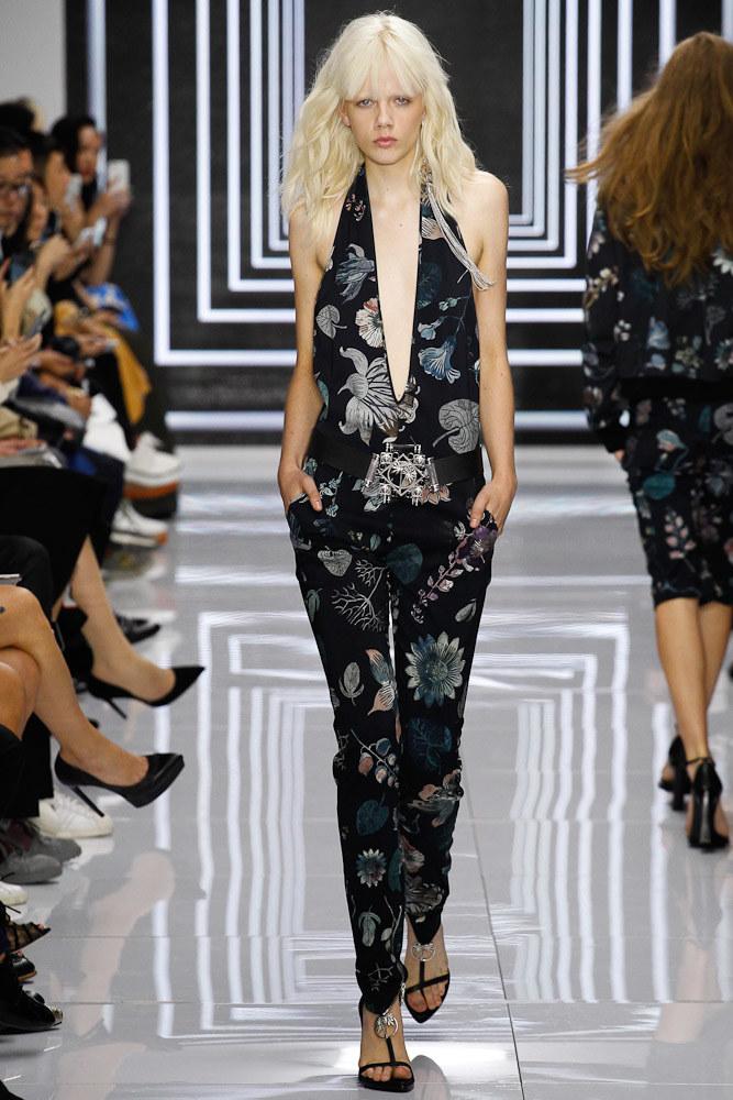 Versus Versace Ready To Wear SS 2016 LFW (48)